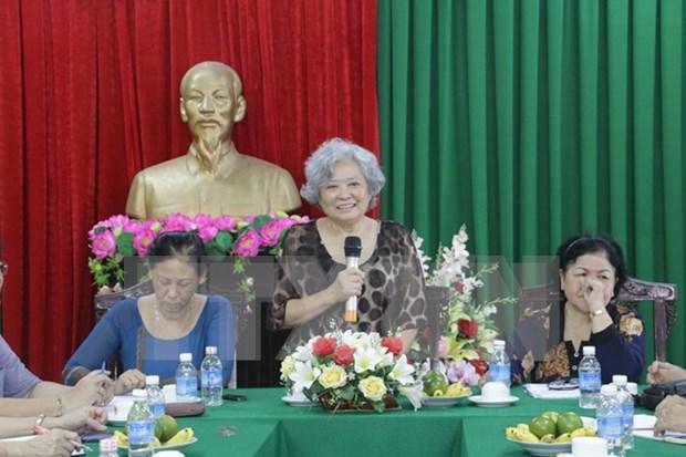 越裔法国人陈素娥为越南橙剂受害者讨回公道的斗争受到大力支持 hinh anh 1