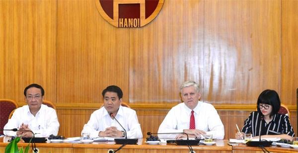 河内市将加快亚行援助的项目实施进度 hinh anh 1