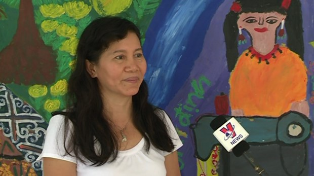 越南政府和国际组织携手帮助获解救的被拐受害者重新融入社会 hinh anh 6