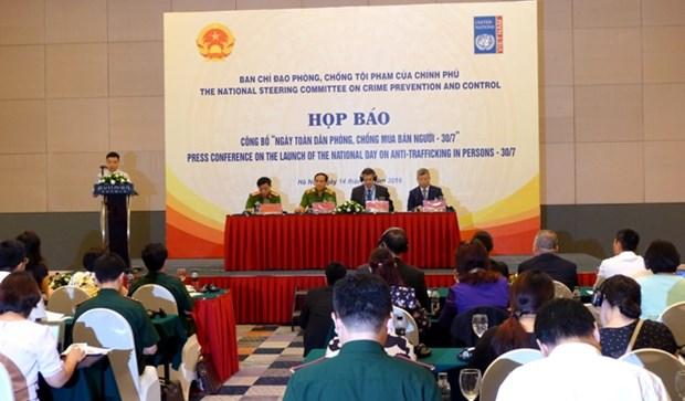 越南政府和国际组织携手帮助获解救的被拐受害者重新融入社会 hinh anh 3