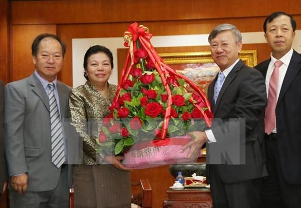 老挝人民为越南七十一年来取得的胜利与成就感到自豪 hinh anh 1
