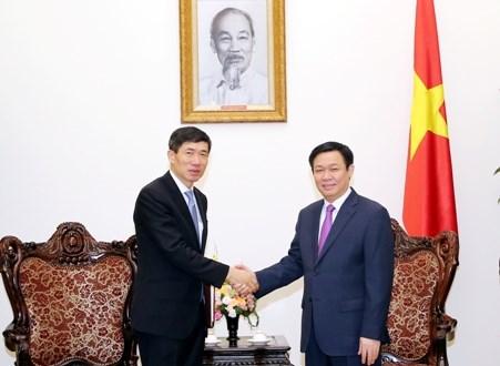 越南政府副总理王廷惠:希望UNDP继续向越南提供优惠贷款 hinh anh 1