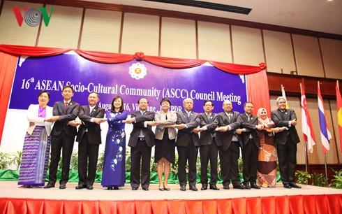 第16届东盟社会文化共同体理事会会议发表联合声明 hinh anh 1