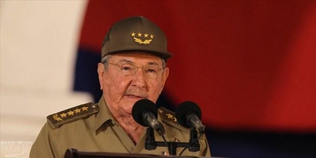 古巴领导人致电祝贺越南国庆71周年 hinh anh 1