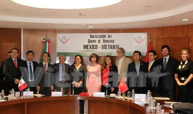 墨西哥-越南友好议员小组正式成立 hinh anh 1