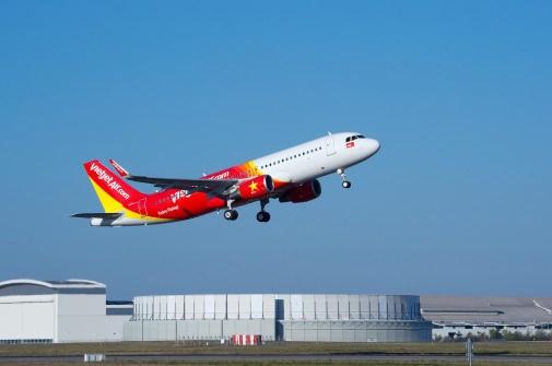 越捷航空公司推出15万张特惠机票 庆祝三条新国际航线开通 hinh anh 1