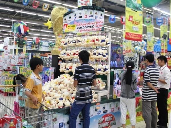 越南货逐步占领各超市 hinh anh 1
