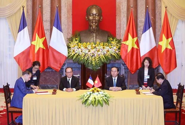 法国总统:越南在东南亚地区占有重要的地缘战略 hinh anh 1