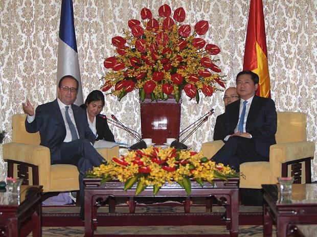 胡志明市与法国促进在诸多领域的合作关系 hinh anh 1