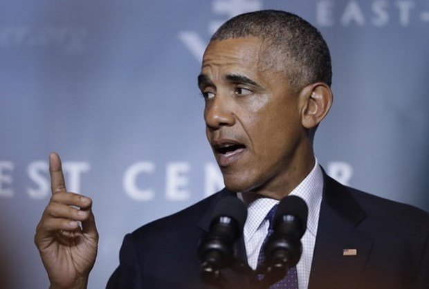 奥巴马总统:美国对亚洲的干预将延续 hinh anh 1