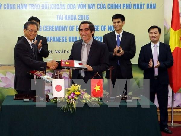 日本向越南提供总额为110亿日元的ODA资金 hinh anh 1