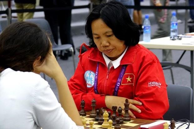 2016年国象奥赛:越南女队击败西班牙队 hinh anh 1