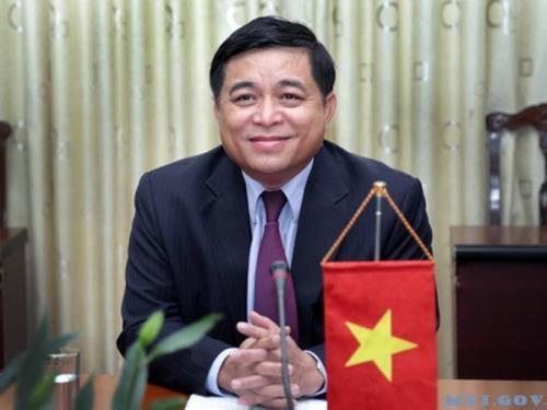 越南计划与投资部部长阮志勇率团对美国进行访问 hinh anh 1