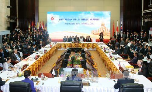 东盟与中日韩领导人会议进一步加深东盟十国与中日韩之间的关系 hinh anh 1