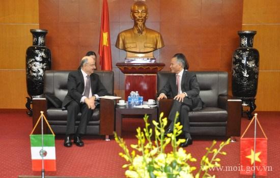 越南与墨西哥推动双边合作关系深入、务实与有效发展 hinh anh 1