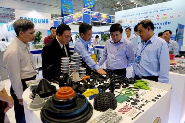 2016年越南辅助工业国际展览会在胡志明市举行 hinh anh 1