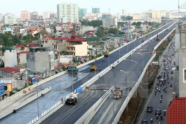 日本国际协力机构与河内市加强合作解决城市交通问题 hinh anh 1
