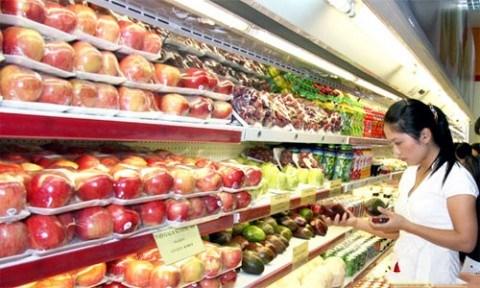 今年前8月越南蔬果进口额增长37% hinh anh 1