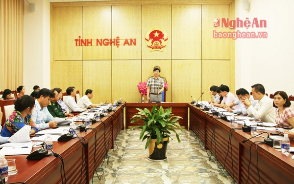 乂安省力争到2020年商品出口额达12亿美元 hinh anh 1