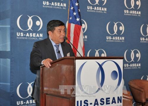 越南计划与投资部部长阮志勇主持越美投资促进研讨会 hinh anh 2