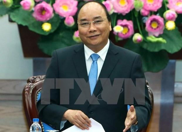 越南政府总理阮春福开始对中国进行正式访问 hinh anh 1