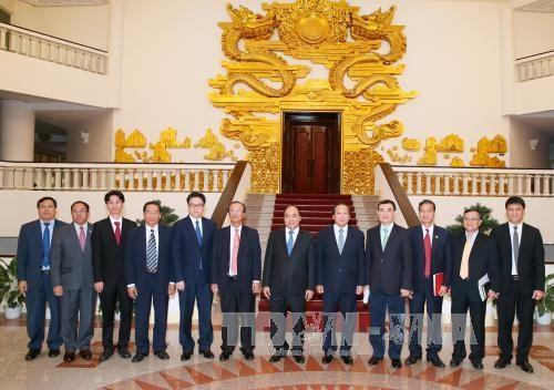 阮春福总理会见柬埔寨邮电部大臣陈尤德 hinh anh 1