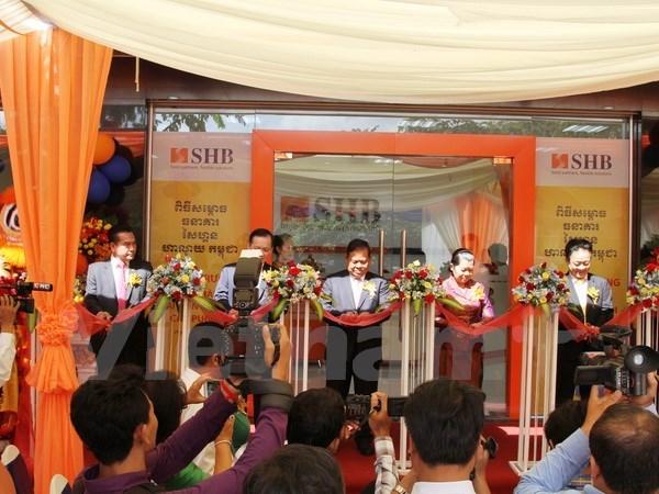 越南西贡-河内商业股份银行柬埔寨分行正式开业 hinh anh 1