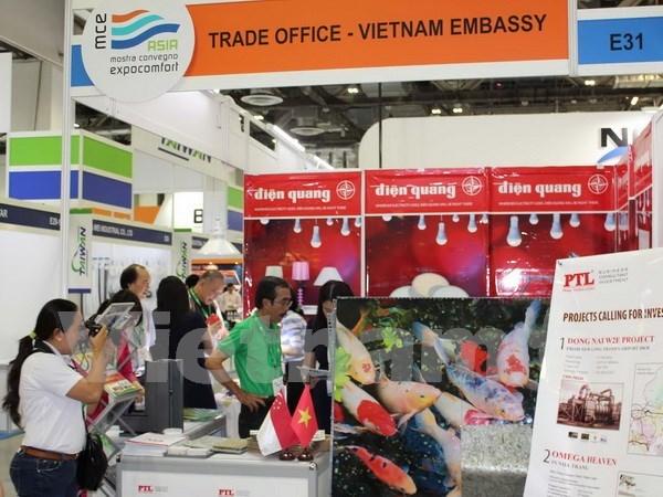 越南参加2016年亚洲建筑及室内装饰展览会 hinh anh 1