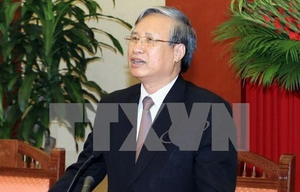 越南与中国加强党建检查工作经验交流 hinh anh 1