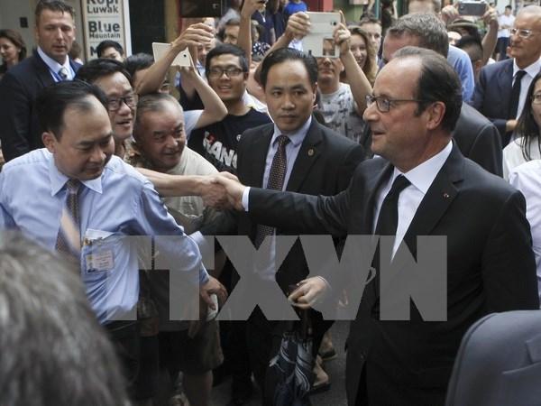 法国媒体:越南市场十分活跃并日益吸引法国的眼球 hinh anh 1