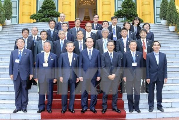 """国家主席陈大光:支持""""越南—关西经济对话""""机制 hinh anh 1"""