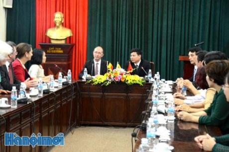 越南与比利时瓦隆大区及法语区联邦合作关系中的新发展方向 hinh anh 1