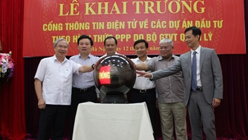 越南交通部门将PPP项目的有关信息公之于众 hinh anh 1
