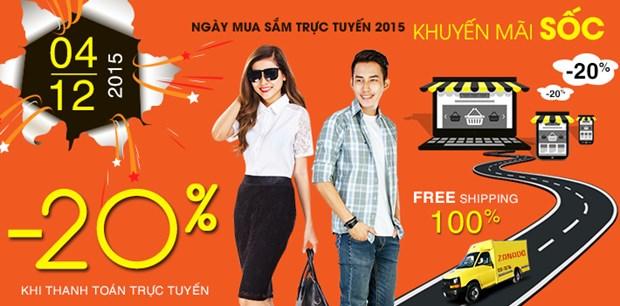 越南是东盟国家网上购物量最大的国家 hinh anh 1