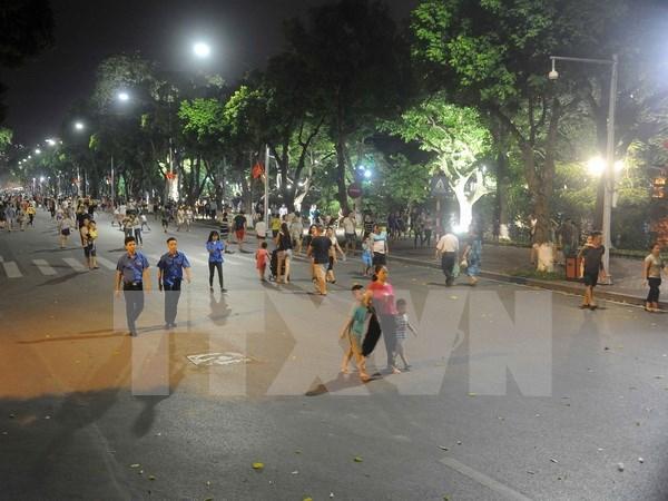 河内市努力将步行街区打造成为特色的旅游产品 hinh anh 1