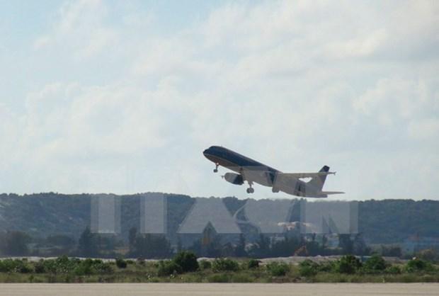"""强台风""""莫兰蒂""""逼近越南航空调整进出高雄机场的航班时刻表 hinh anh 1"""