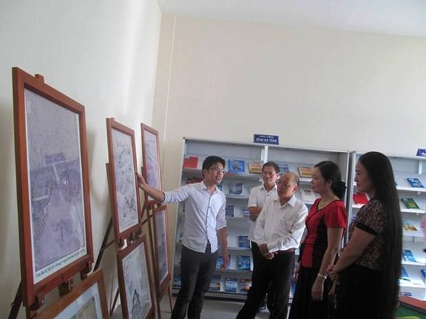 """""""越南海洋与岛屿""""图片资料展在广平省举行 hinh anh 1"""