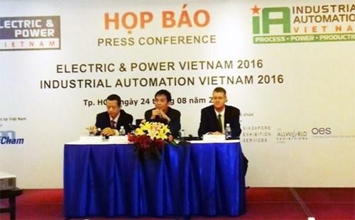 30个国家参加2016年越南国际电力能源设备及技术展 hinh anh 1