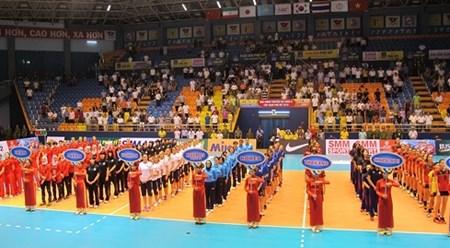2016年亚洲女排锦标赛在越南永福省举行 hinh anh 1