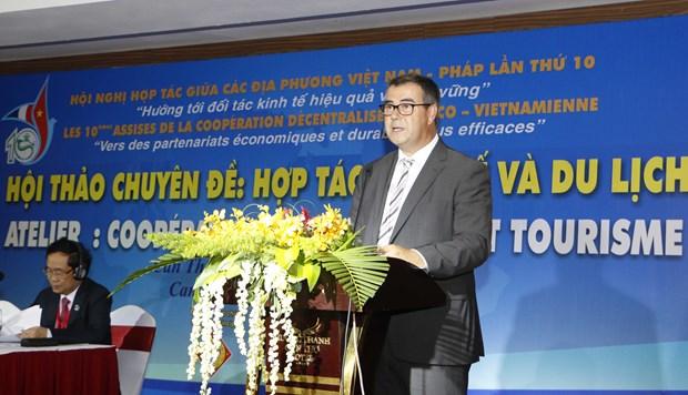 越南与法国各地加强合作关系 hinh anh 2