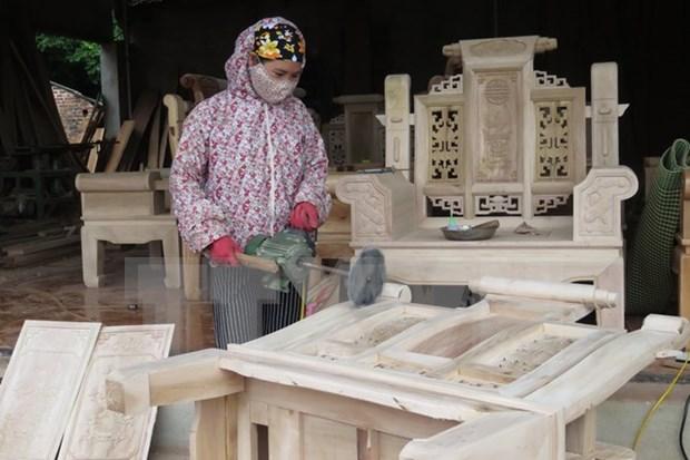 前8个月全国木材和木制品出口额达近44亿美元 hinh anh 1