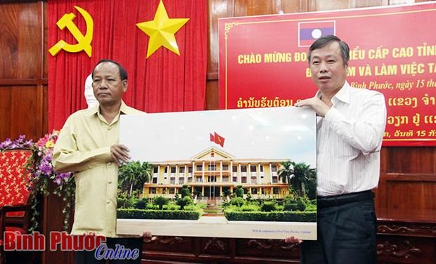 越南平福省与老挝占巴塞省促进农业合作 hinh anh 1
