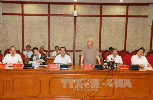 阮富仲总书记:尽早将芹苴市建设成为九龙江三角洲地区的发展动力 hinh anh 2