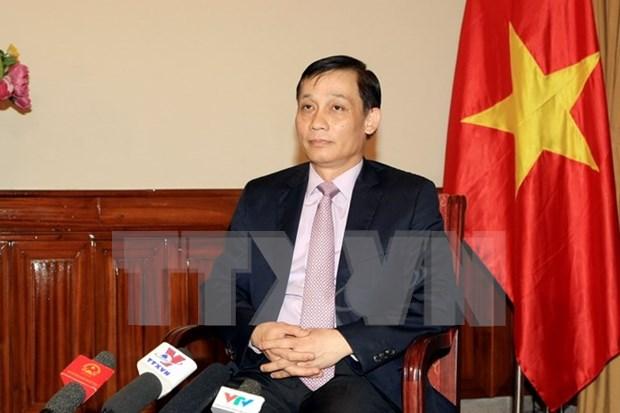 黎淮忠副外长:阮春福总理访华之旅为促进越中经贸合作关系注入新动力 hinh anh 1