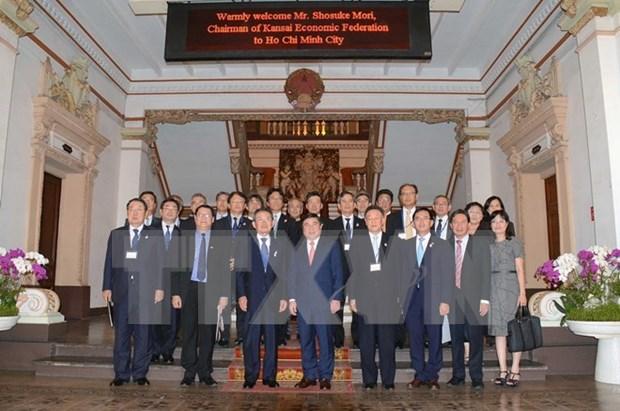 胡志明市希望成为日本关西地区企业可靠的投资目的地 hinh anh 1