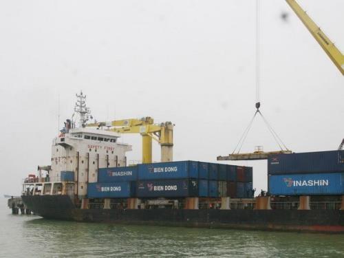 岘港港口货物吞吐量达近500万吨 hinh anh 1