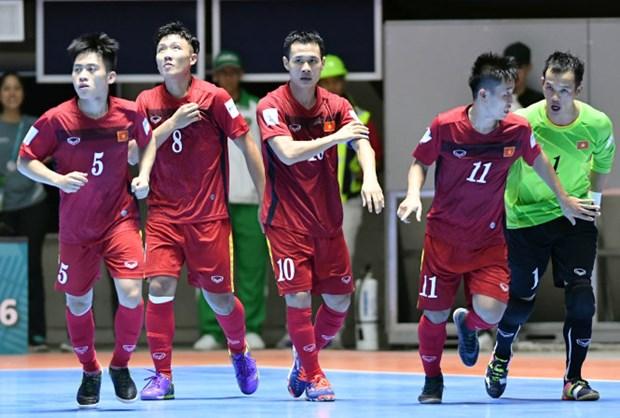 2016年世界杯五人制足球赛:越南队将迎战俄罗斯队 hinh anh 1