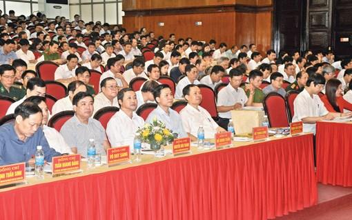 清化省党员干部加强学习和实践胡志明思想、道德和作风 hinh anh 1
