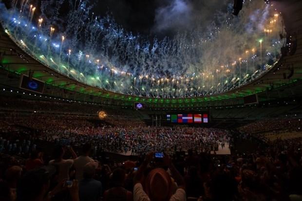 第十五届残奥会闭幕:越南残奥代表团在奖牌榜上名列第55位 hinh anh 1