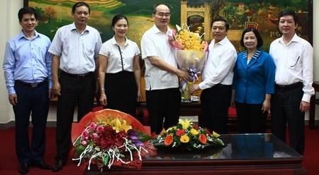 阮善仁:越南农民协会应将新农村建设与新型合作社模式建设相结合 hinh anh 1